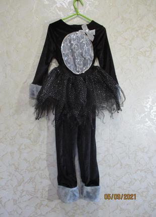 Карнавальный нарядный костюм кошки с юбкой/кот/кошечка/человечек/хэллоуин