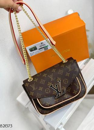Сумка сумочка на цепочке в стиле louis vuitton