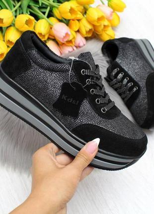Замшевые натуральные женские кроссовки, кожаные кроссовки шкіряні кросівки 36-41р код 7420
