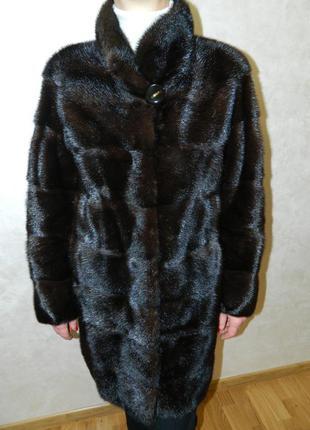 "Шуба норкова - трансформер з магазину ""соболь"" на зріст 160-165 см."