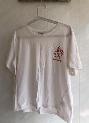 Monki футболка белая