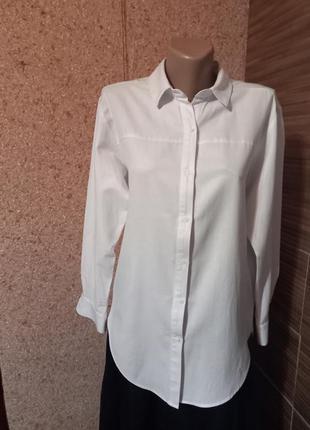 Коллекционная удлинненая рубашка  zara