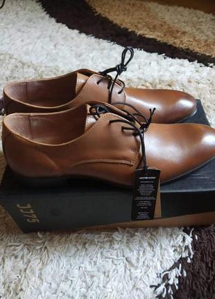 Кожаные туфли jack & jones