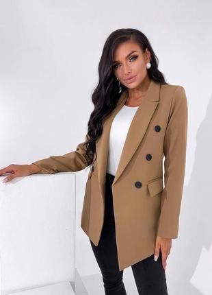 Модный и стильный женский пиджак