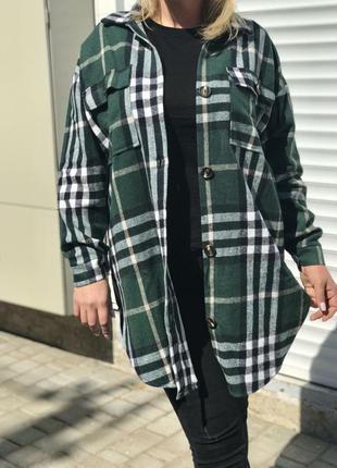 Удлинённая женская рубашка
