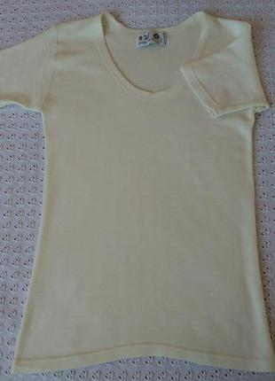 Термо футболка з мериносової вовни термобілизна термобелье шерсть мериноса поддева шеостяная
