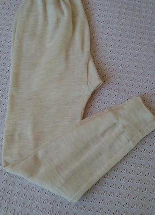 Термоштани шерсть акрил теплі підштанники термобілизна термобелье термо штаны шерстяные подштанники