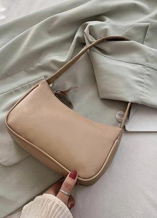 Сумка на плечо (3 цвета) базовая женская сумочкс