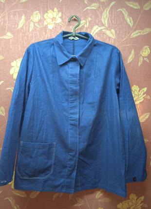 Женская куртка спецовка 52 р,пог 56 см