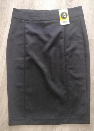 Спідниця юбка розмір виробника 8 чорного кольору нова з біркою 💃