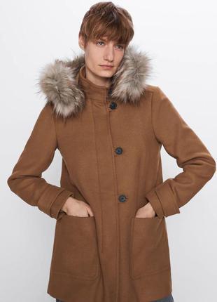 Пальто zara ( xs/s)
