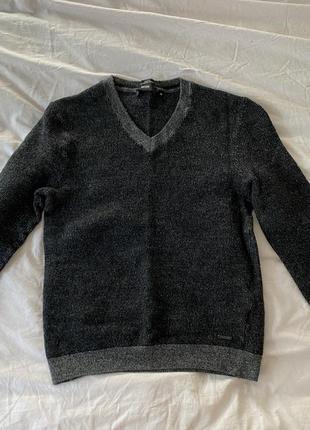 Шерстяной свитер на мальчика hugo boss
