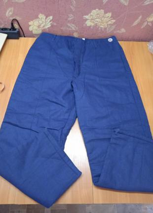 Мега теплые штаны рабочие 48 р