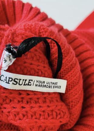 Вязанный свитер удлиненный свитер оверсайз