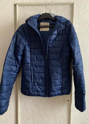 Уютная куртка с капюшоном pull&bear s💙