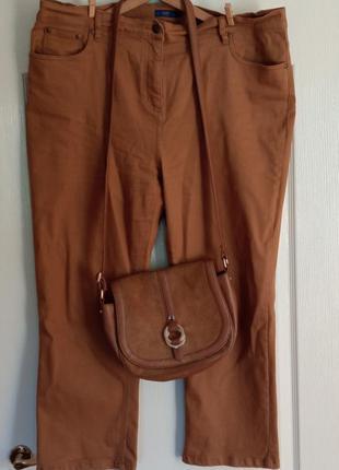 Джинси коттоновые штаны штани стрейчевые брюки мом
