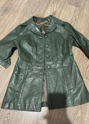 Кожаный пиджак м