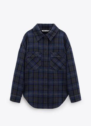 Нова стильна куртка-рубашка zara