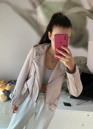 Куртка замш bershka