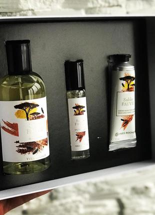 Набор парфумов sable fauve yves rocher