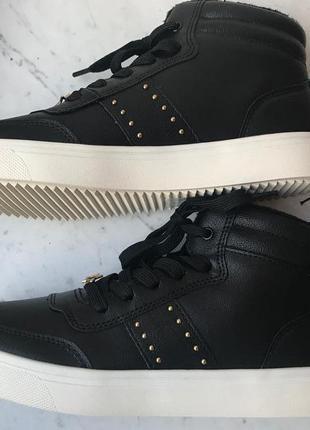 Хайтопы h&m ботинки сникерсы, размер 36, стелька 23 см