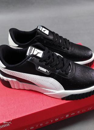 Puma стильные кроссовки cali топ