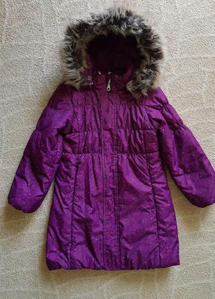 Стильное пальто lassie by reima  деми  104 110 116 см 4 5 6 лет термо куртка зимнее