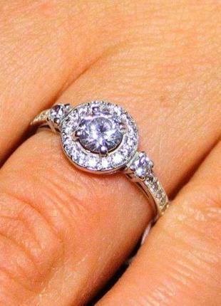 Кольцо серебро 925 проба 16 размер