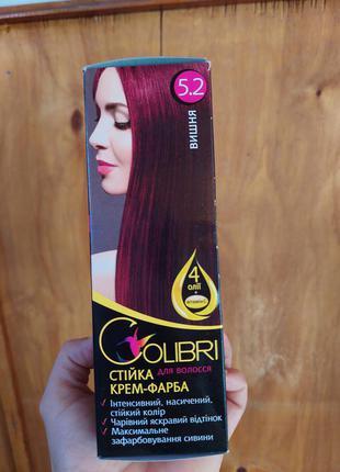 Краска для волос вишня