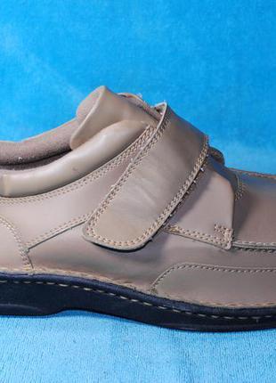 Кожаные туфли 43 размер 2