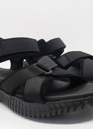 Стильные удобные легкие сандалии skechers оригинал
