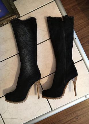 Нові ботфорди /сапожки туфлі каблуки обмен продажа