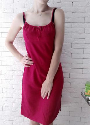 Сукня з льону, лляна сукня