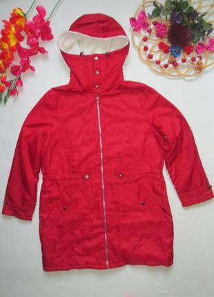 Шикарная демисезонная куртка парка с капюшоном being casual 🍁🌹🍁