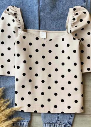 Кофточка топ футболка блузка h&m