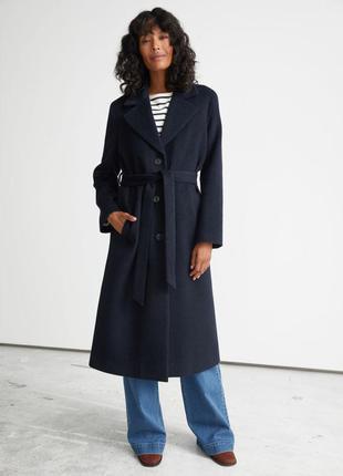 Пальто оверсайз из альпаки (есть размеры)