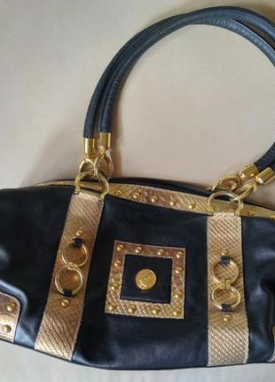 Кожаная сумка на плечо made in italy