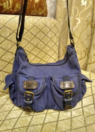 Стильная джинсовая сумочка bonprix
