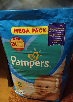 Памперси pampers active baby 2 і 3 в наявності