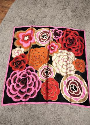 Шикарный шелковый платок
