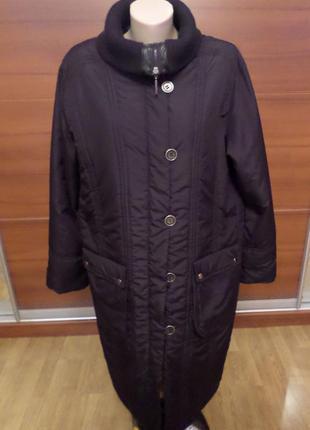 Демисезонное пальто 54/56 разм.