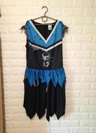 Карнавальное платье пиратки, разбойници, для аниматора