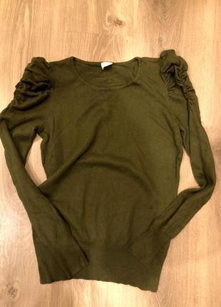 Шерстяной свитер camaieu