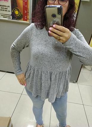 Турецкий шикарный мягусенький свитерок.