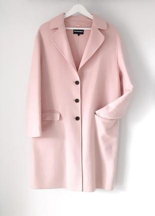 Пальто rockandblue ,цвет пудра