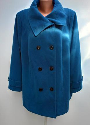 Пальто великого розміру 62-64/полупальто женское пог 76см