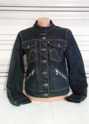Стильная джинсовая курточка vanilia