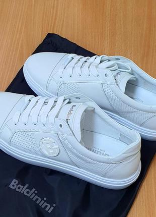 Белые женские кроссовки baldinini 41-42 р - білі кросівки baldinini жіночі оригінал