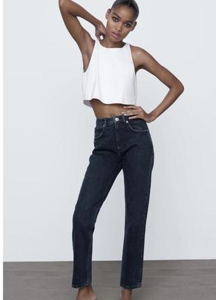 Джинси mom zara, женские джинсы zara mom р 32-444