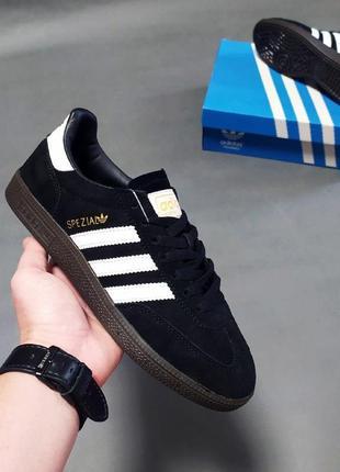 Мужские кроссовки adidas originals spezial черные